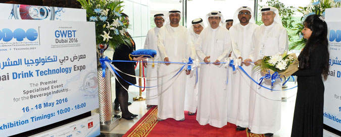 Sami Al Qamzi opens 8th Dubai Drink Technology Expo