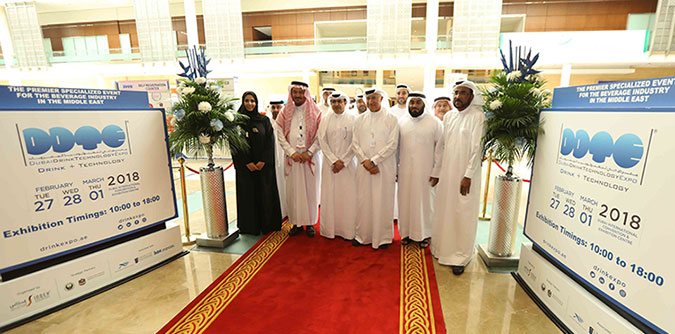 H.E. Al Qamzi Inaugurates 10th Dubai Drink Technology Expo